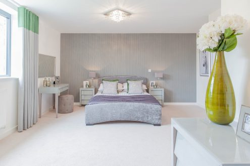 Bedroom one - Llangrove development, MF Freeman