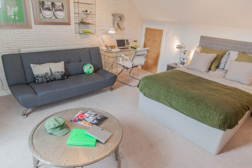 Bedroom four - Llangrove development, MF Freeman