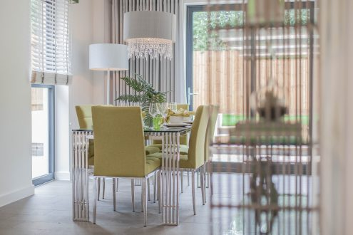 Dining room - Llangrove development, MF Freeman