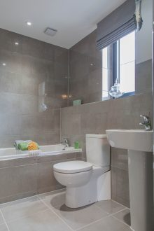 En-suite - Llangrove development, MF Freeman