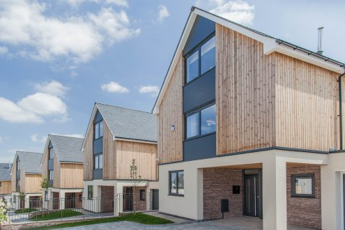 The Close, Llangrove - MF Freeman development - external