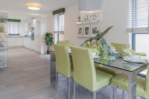 Kitchen diner - Llangrove development, MF Freeman