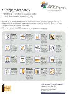 16 Steps to Fire Safety Poster (STA)
