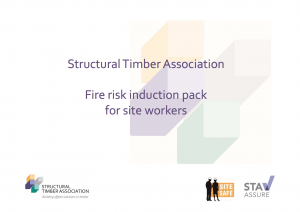 Fire risk induction pack for site workers (STA)