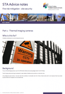 Site Security - Thermal Imaging Cameras (STA: Advice Note 8.1)