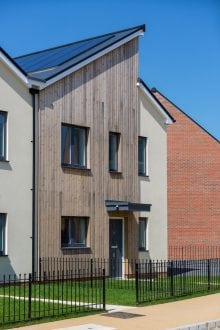 Elmsbrook eco-village development, Bicester by FABRICA using Taylor Lane 140mm timber frame kit