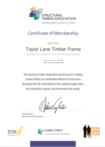 STA Certificate of Membership